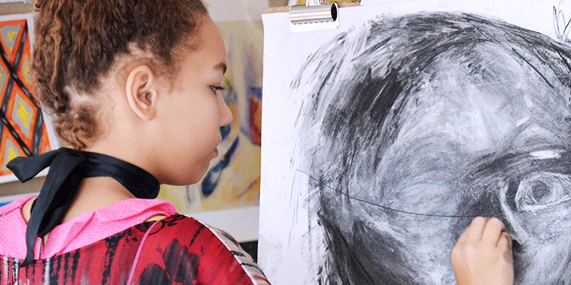 Teen Art Classes Larchmont One River