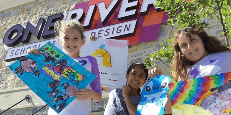 Texas Visual Art One River School